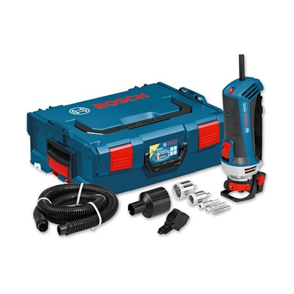 Bosch GTR 30 CE Professional Tile Router + Accessories in L-Boxx 110v