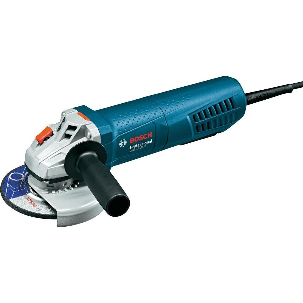 Bosch GWS 11-125 P Slim Grip Angle Grinder with PROtection Paddle Switch 125mm / 5""