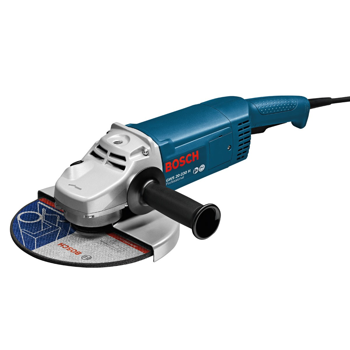 bosch gws 20 230 h professional 9 230mm angle grinder. Black Bedroom Furniture Sets. Home Design Ideas
