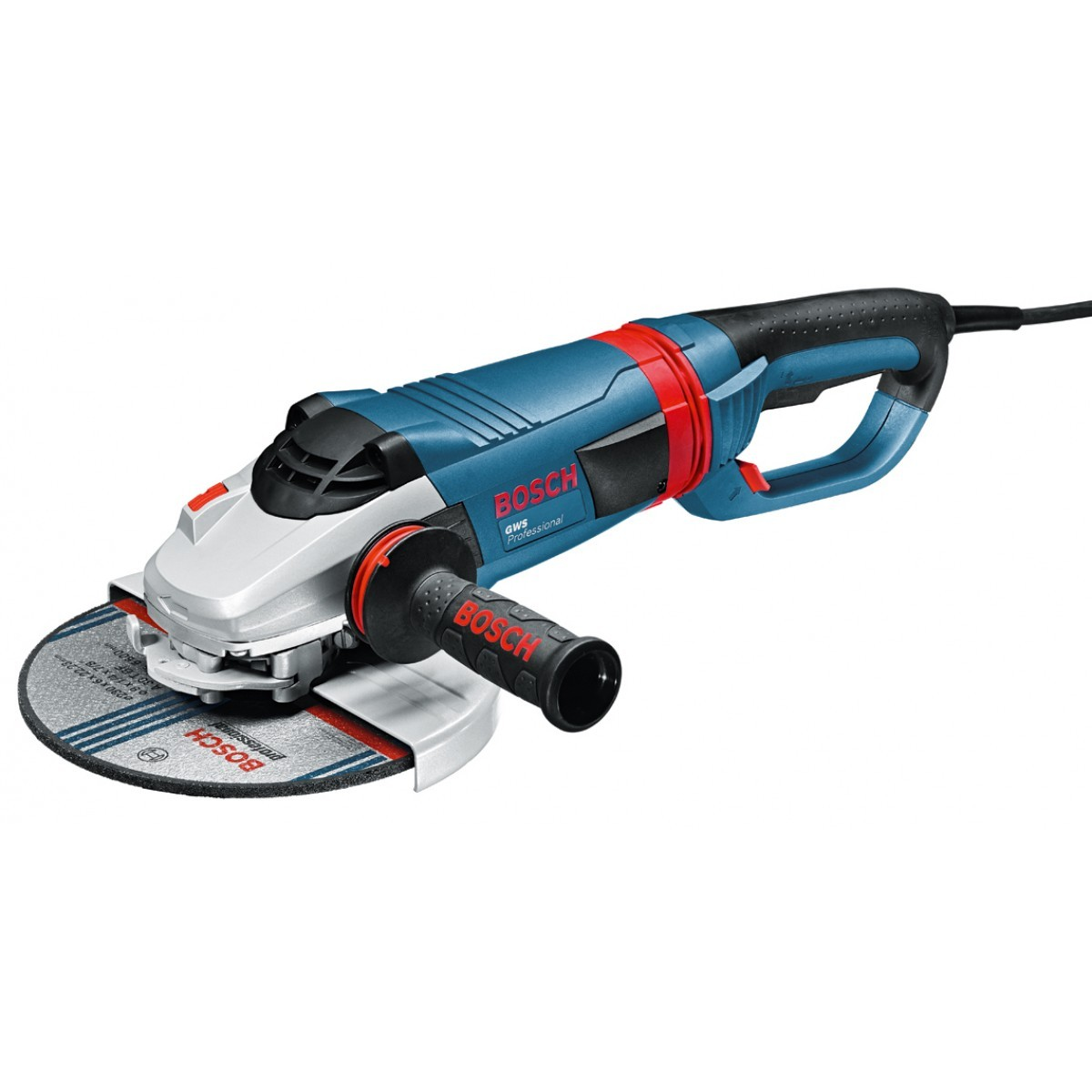 Bosch GWS 24-230 LVI 240v with Auxiliary Handle