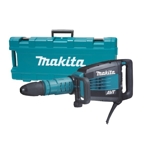 Makita HM1214C 10Kg SDS-Max Demolition Hammer with AVT