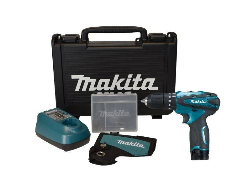 Makita HP330DSP1C 10.8v Combi Drill inc 1x 1.3Ah Battery Bundle