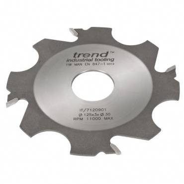 Trend IT/7120917 Adjustable grooving cutter 125x4x31.75mm