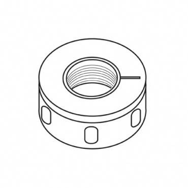 Trend IT/TH/CNM48 Bearing collet nut ER40 M48X2.0