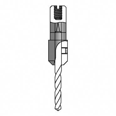 Trend IT/2039517 2039-Chuck adapter drill 2.5 mm dia.