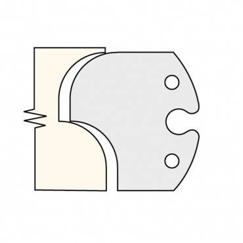 Trend IT/3301960 Knife 60mm tool steel (pair)
