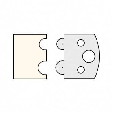 Trend IT/3403040 Limiter 38mm x 4mm (pair)