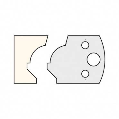 Trend IT/3303740 Knife 40mm x 4mm tool steel (pair)