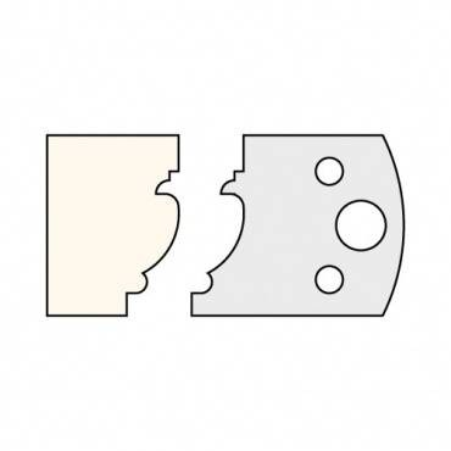 Trend IT/3312140 Knife 40mm x 4mm tool steel (pair)