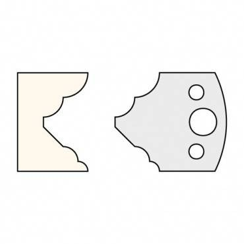 Trend IT/3312540 Knife 40mm x 4mm tool steel (pair)