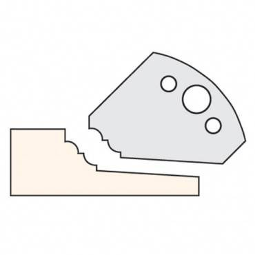 Trend IT/3370443 Knife 50mm x 5mm HSS (pr)704