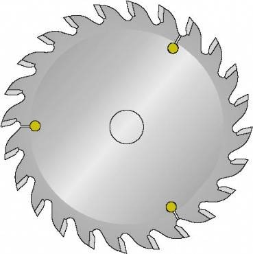 Trend IT/90102104 Sawblades for CNC machine 125X22X24