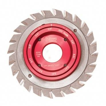 Trend IT/95620303 DMAX DVF-Adjustable Score sawblade 120X20X2.8-3.6