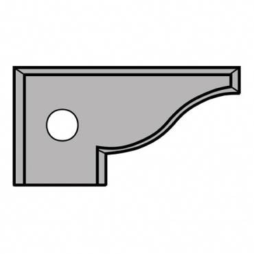 Trend IT/ST/IB01 TC Blade 40X21.5X2 TC insert for mitre lock