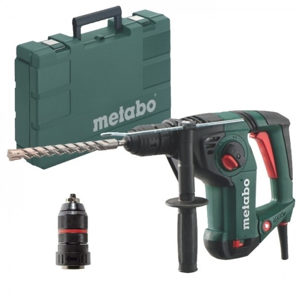 Metabo KHE3251 3 Function SDS+ Hammer Drill with Quick Change Chuck