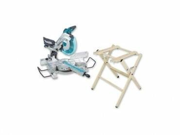 Makita LS1216LX2 240v Mitre Saw with Laser & Stand