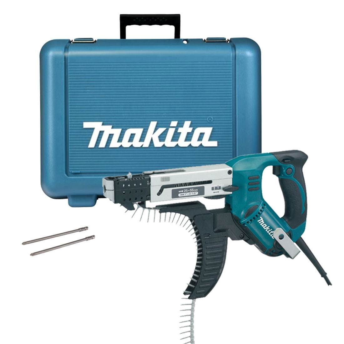 Makita 6843 Auto Feed Screwdriver in Carry Case