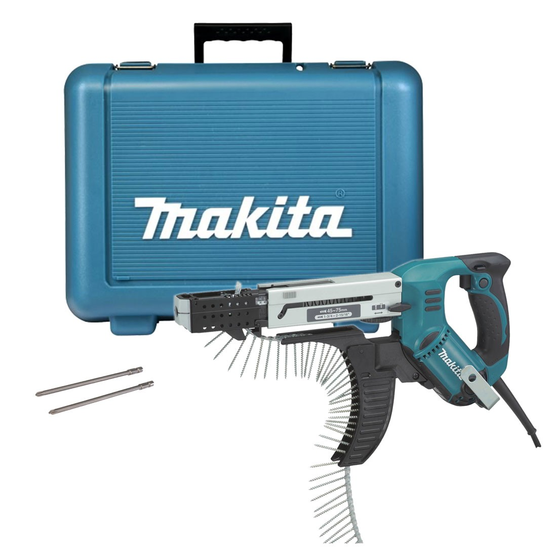 Makita 6844 Auto Feed Screwdriver in Carry Case