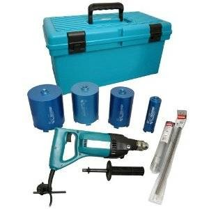 Makita 8406X3 240v inc Accessory Set