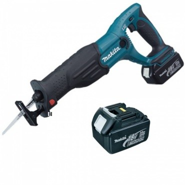 makita bjr182rfe 18v reciprocating saw lxt inc 2x 3ah batteries powertool world. Black Bedroom Furniture Sets. Home Design Ideas
