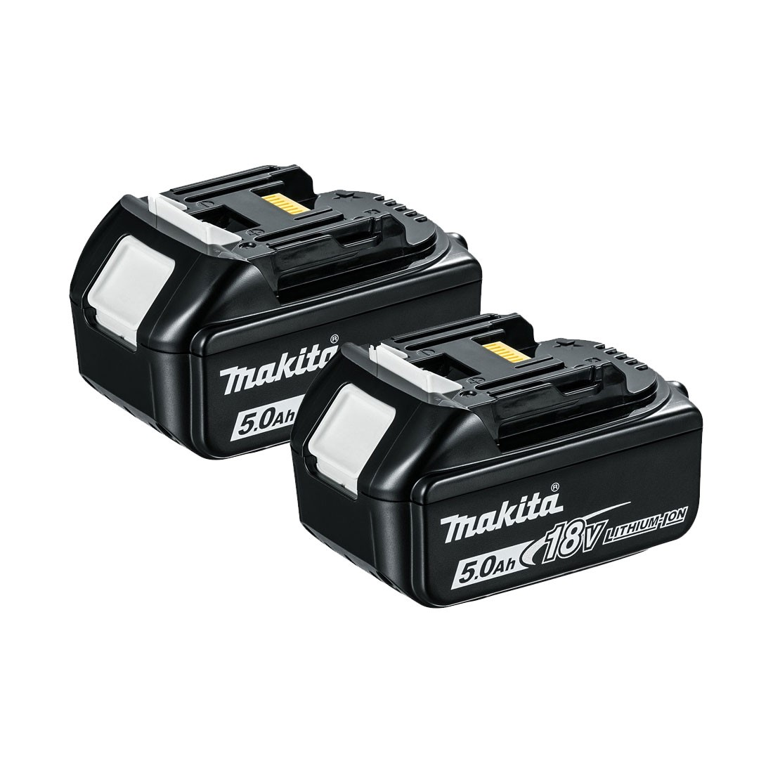 Makita BL1850X2 18v LXT 5.0Ah Li-Ion Battery Twin Pack