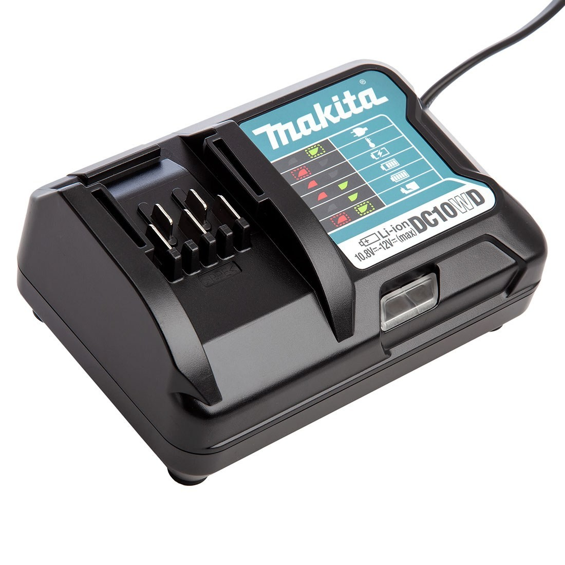 Makita Dc10wc Dc10wd 10 8v 12v Max Cxt Slide Lithium Ion Battery Charger Powertool World