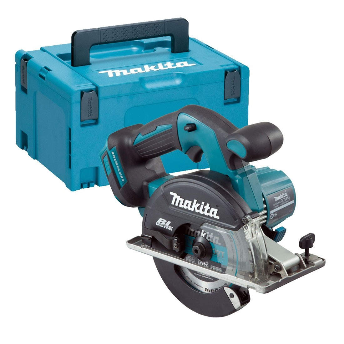 makita dcs551zj lxt 18v 150mm brushless metal cutting saw body only in makpac case powertool world. Black Bedroom Furniture Sets. Home Design Ideas