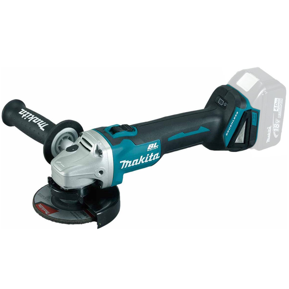 Makita DGA454Z 18v 115mm Brushless LXT Angle Grinder Body Only