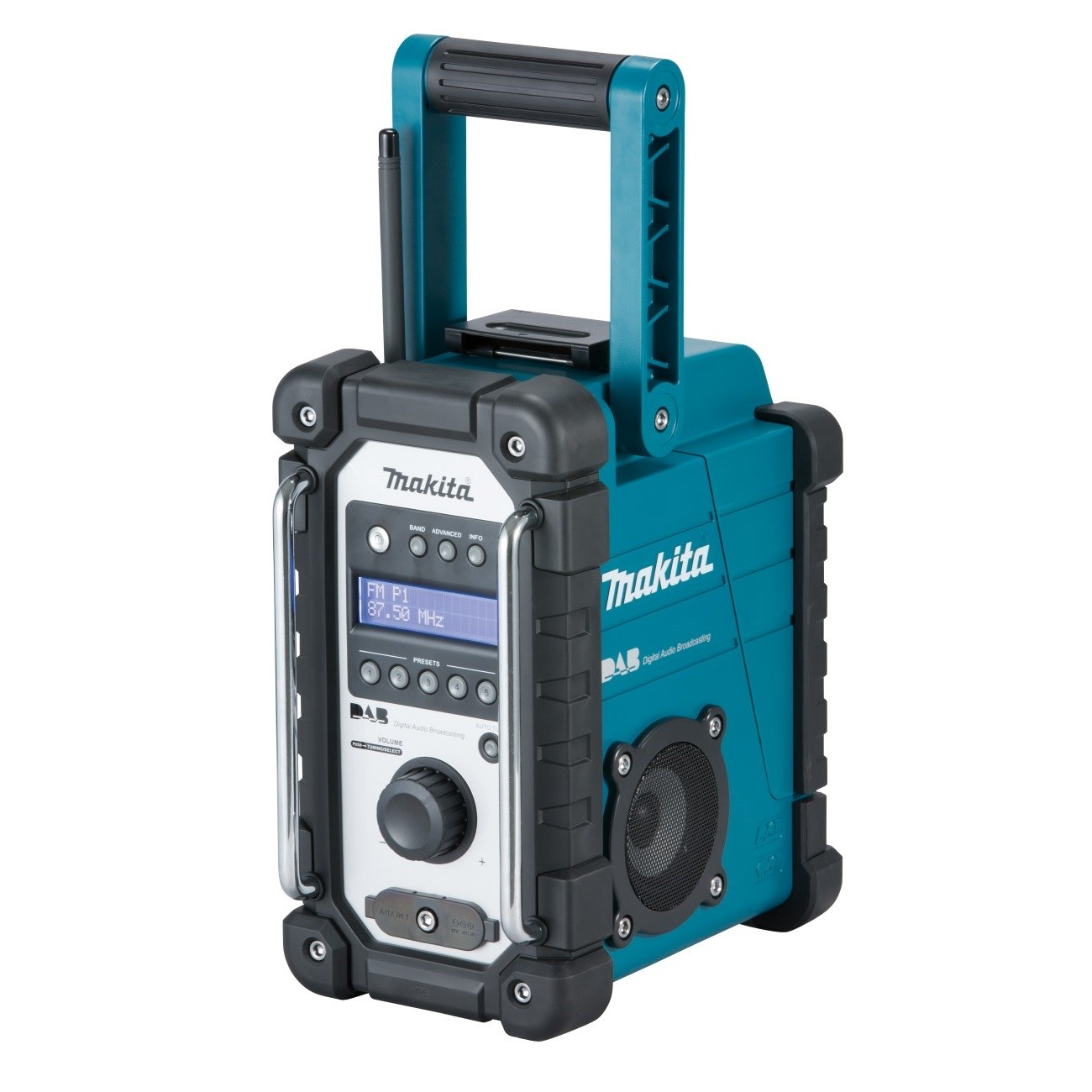 makita dmr109 18v lxt cxt dab fm digital job site radio powertool world. Black Bedroom Furniture Sets. Home Design Ideas