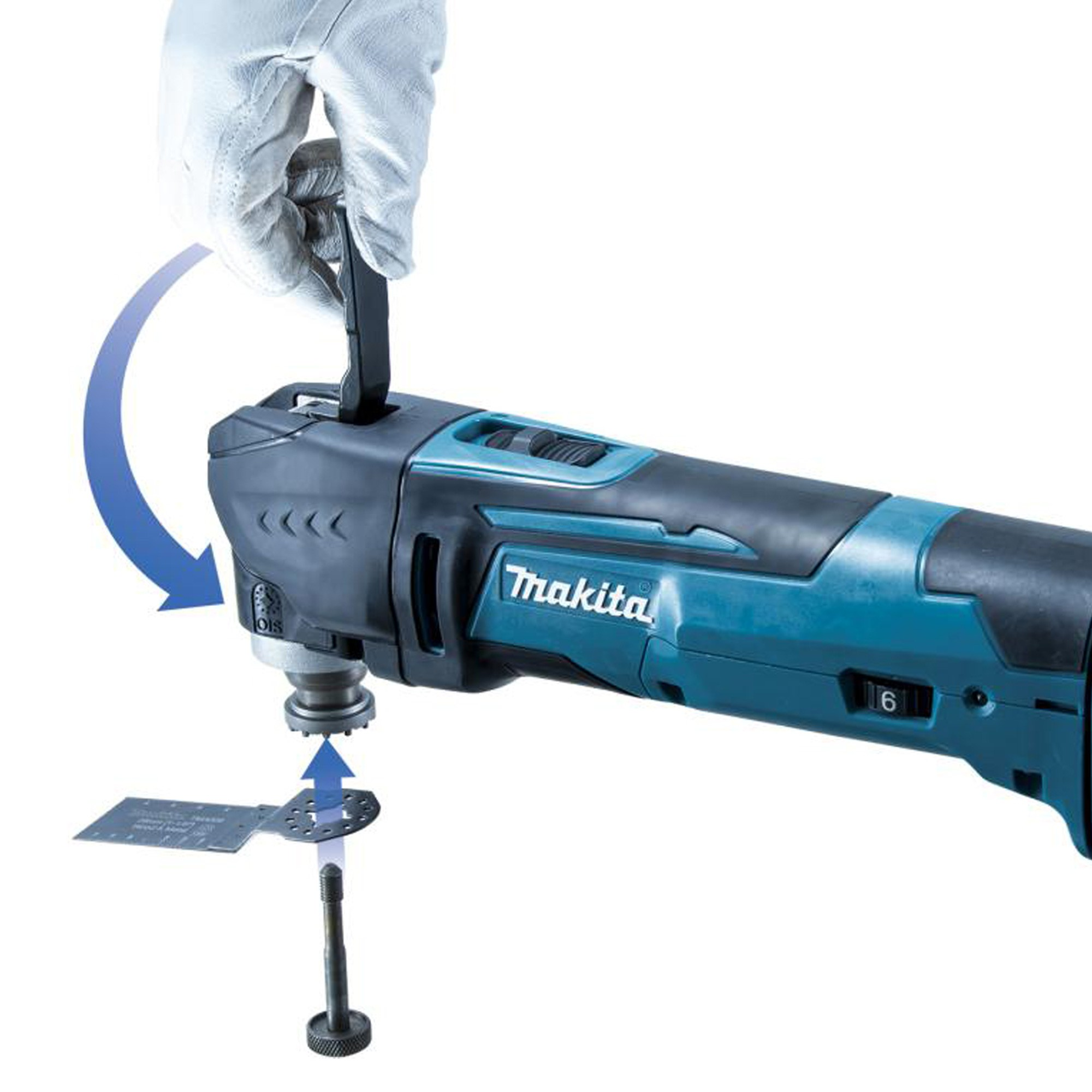 makita dtm51z 18v lxt cordless multi cutter body only powertool world. Black Bedroom Furniture Sets. Home Design Ideas