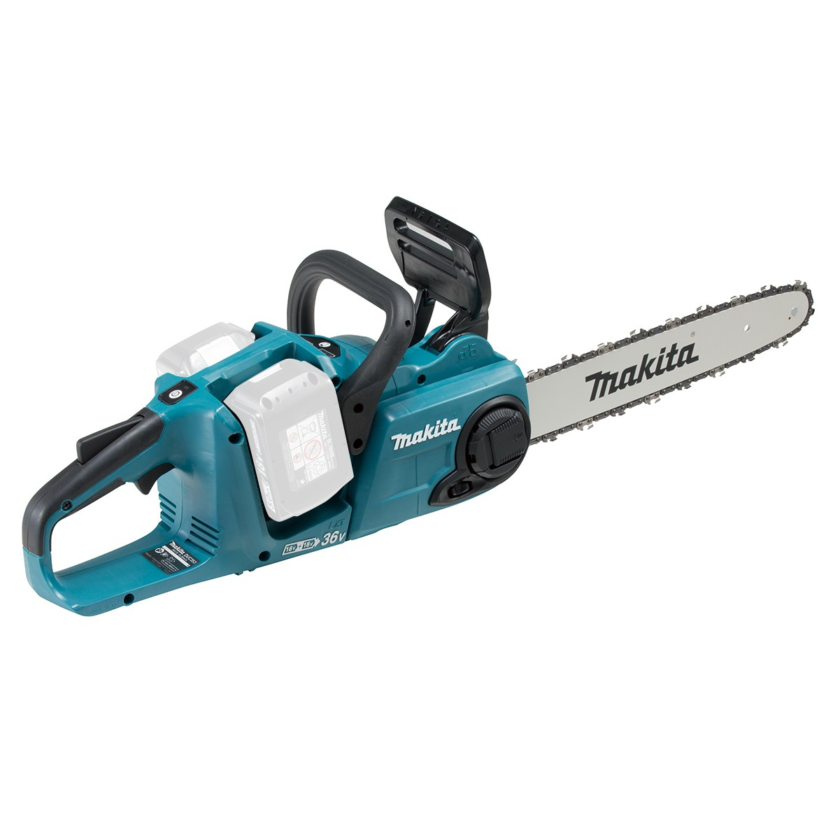 makita duc353z twin 18v lxt brushless cordless chainsaw. Black Bedroom Furniture Sets. Home Design Ideas