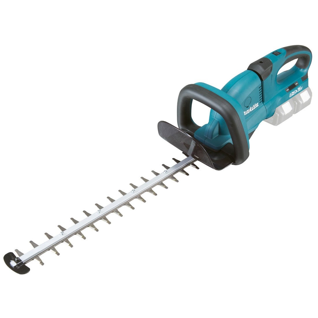 makita duh651z twin 18v lxt cordless 650mm hedge trimmer body only powertool world. Black Bedroom Furniture Sets. Home Design Ideas