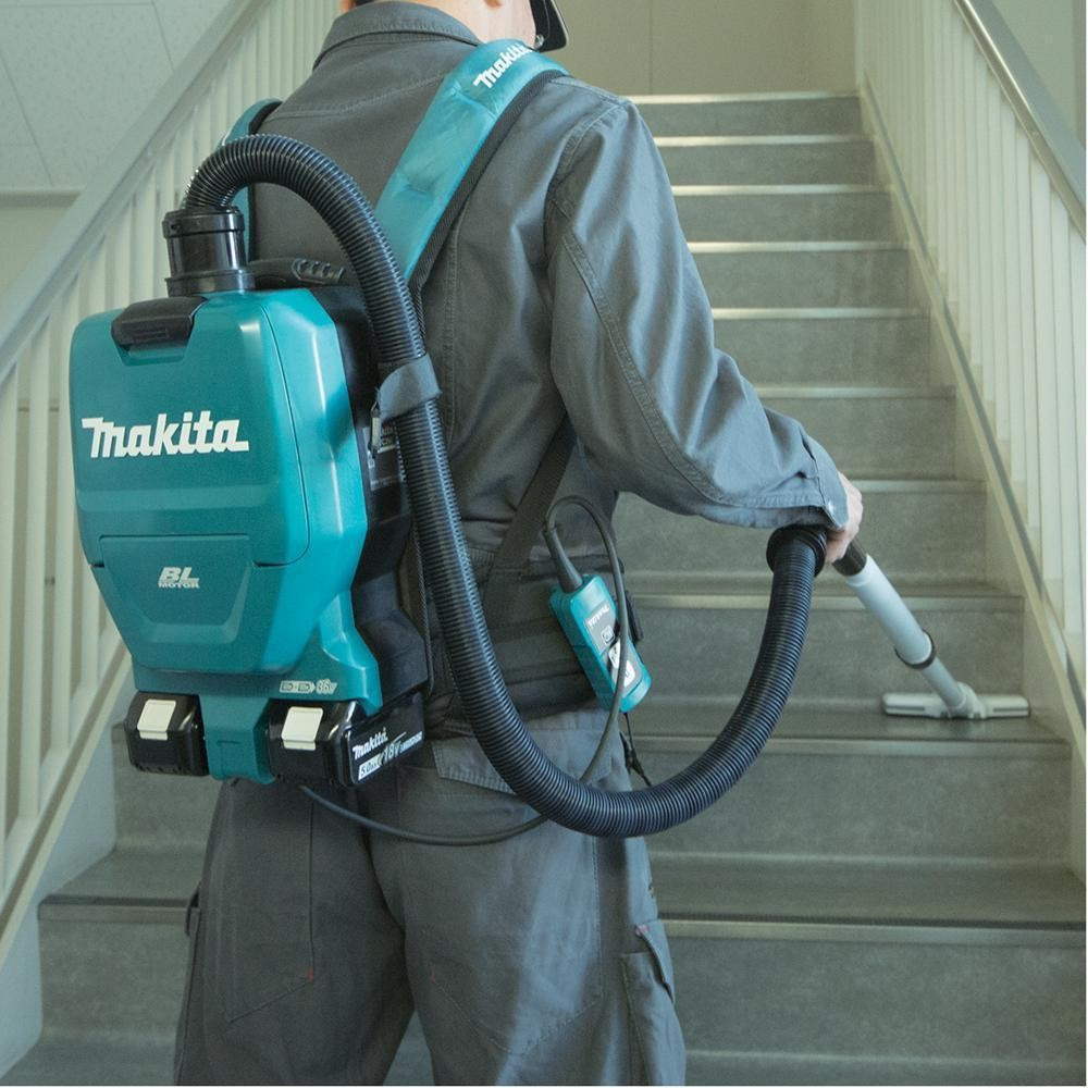 Makita Dvc260z Twin 18v Lxt Li Ion Cordless Backpack