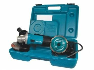 Makita GA4530KD 240v with Diamond Blade & Case