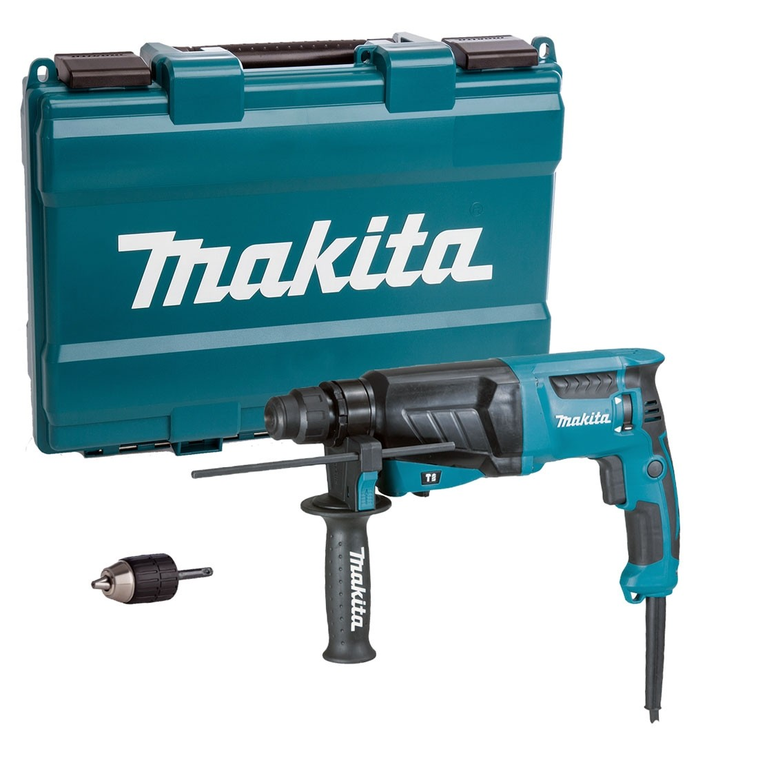 Makita HR2630X7 26mm SDS+ Rotary Hammer Drill inc Quick Change Chuck