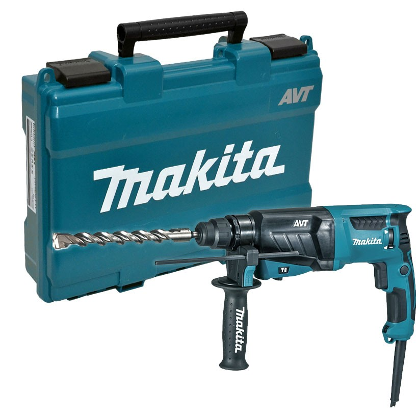 Makita HR2631F 26mm SDS+ Rotary Hammer Drill in Carry Case