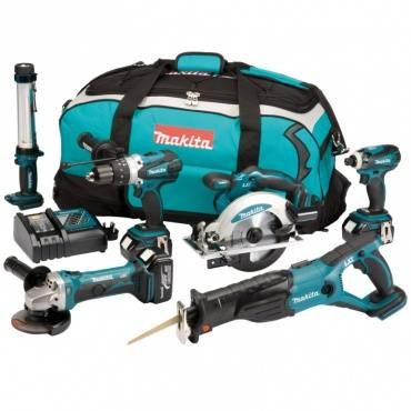 Makita DLX6000M 18V LXT 6 Piece Combo Kit