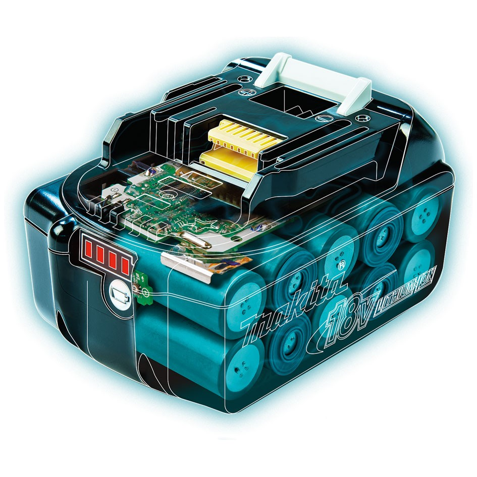 Makita bl1850b 18v lxt 5 0ah li ion battery powertool world - Batterie makita 18v ...