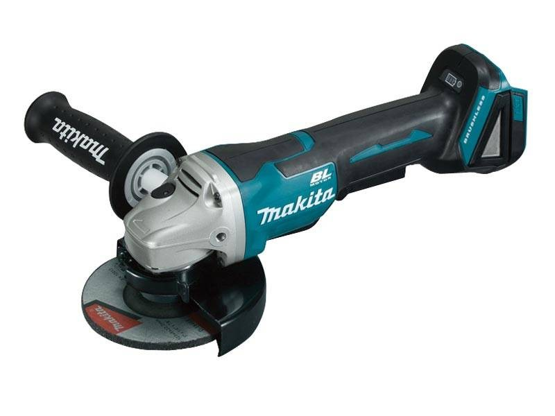 Makita DGA505Z 18v Brushless Paddle Switch 125mm Angle Grinder Body Only