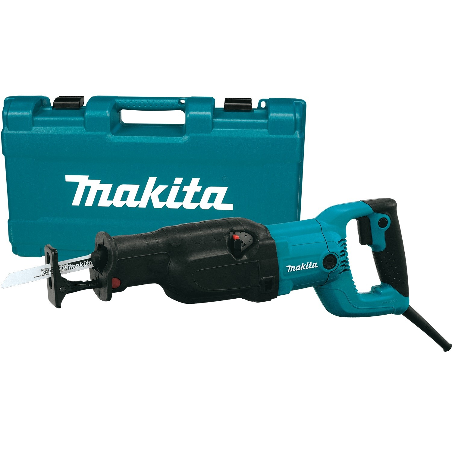 Makita JR3060T Orbital Action Reciprocating Saw in Carry Case