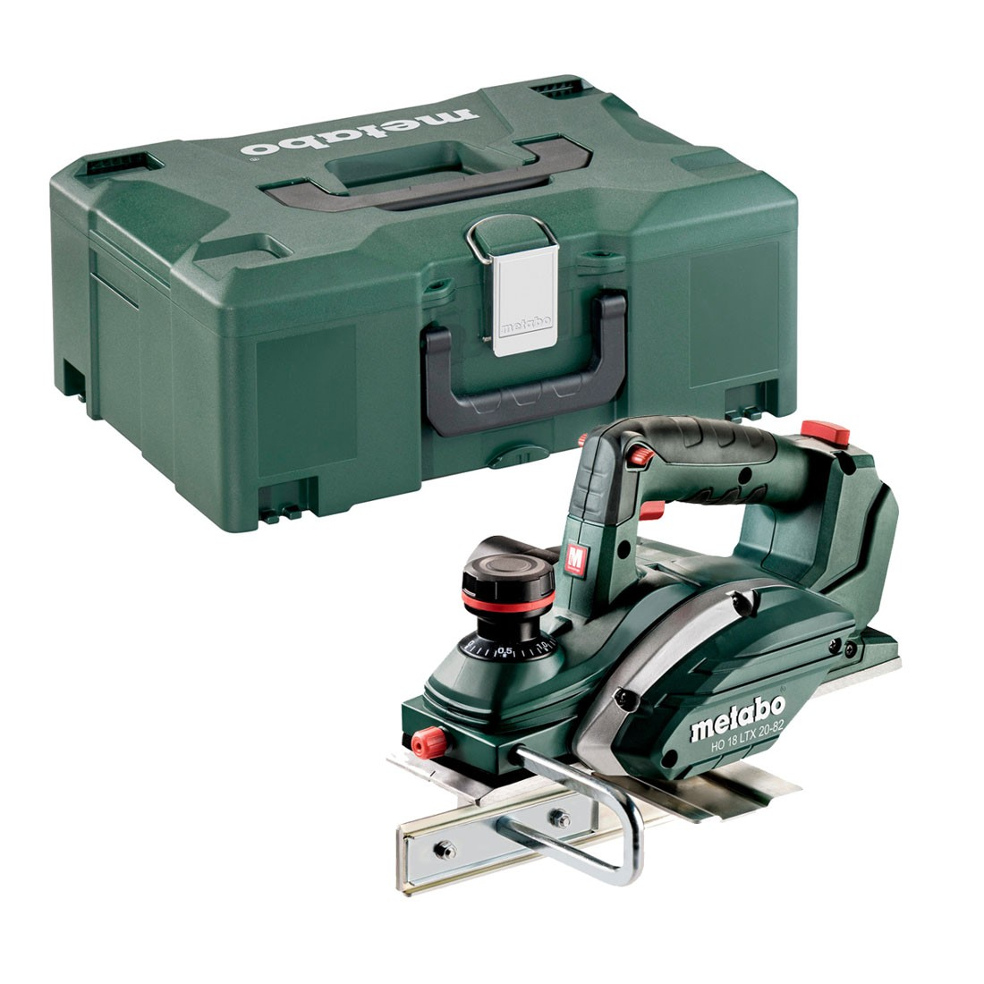 Metabo HO 18 LTX 20-82 18v Cordless Planer Body Only in MetaLoc Case