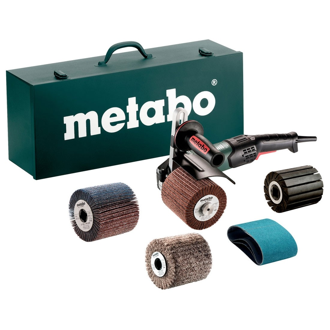Metabo SE 17-200 RT SET Burnishing Machine Grinder Kit 1700W