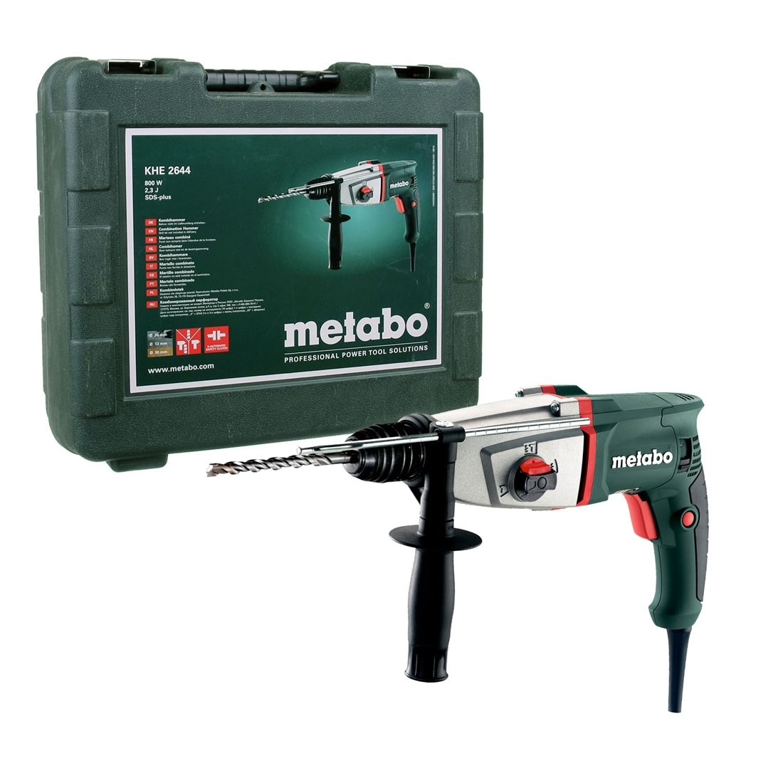 Metabo KHE 2644 SDS+ Plus Combination Hammer Drill