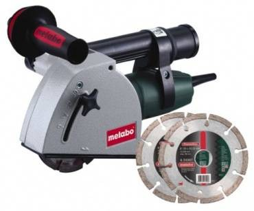 Metabo MFE 30 Wall Chaser inc Diamond Blades 110v