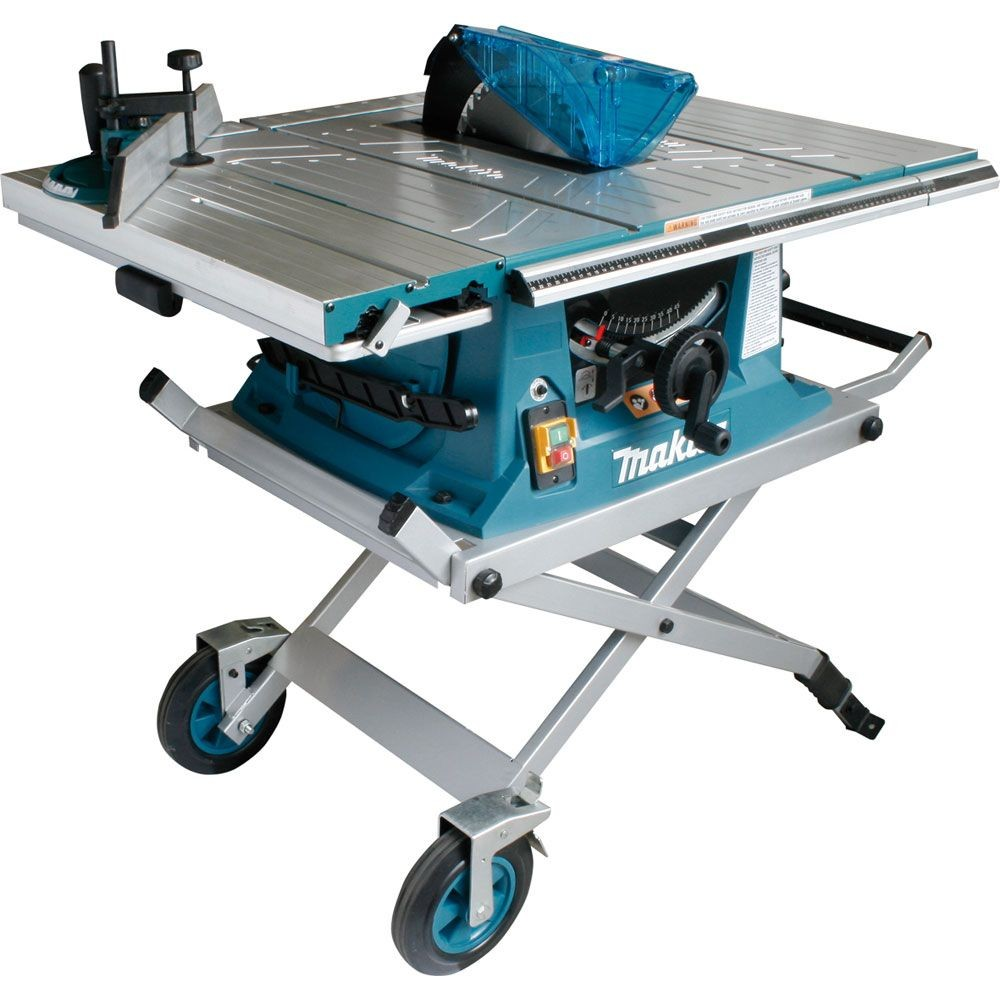 Makita MLT100X 260mm Table Saw with Trolley Stand