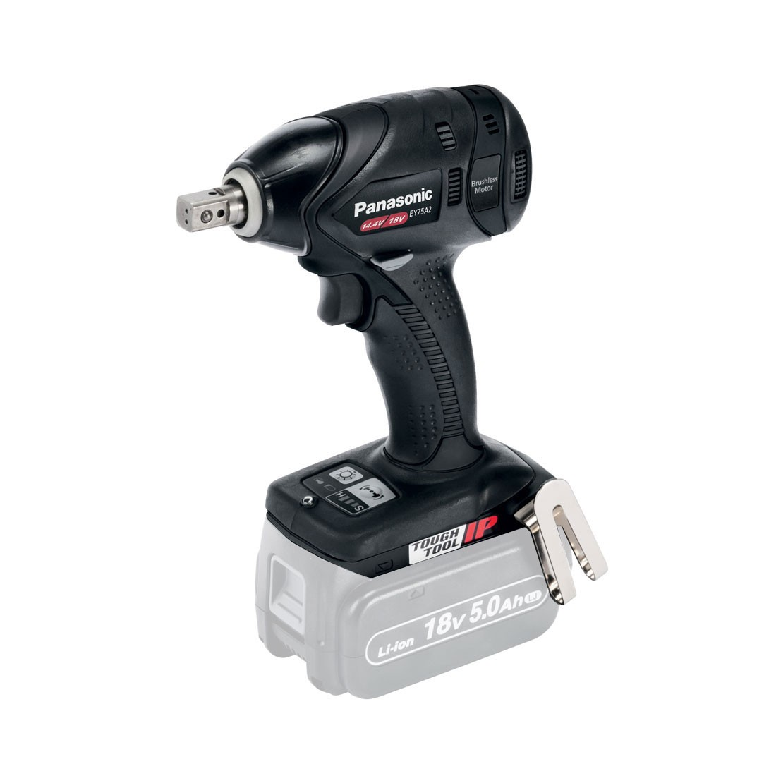 "Panasonic EY75A2X32 Dual Voltage 14.4v/18v Impact Wrench 1/2"" Body Only"