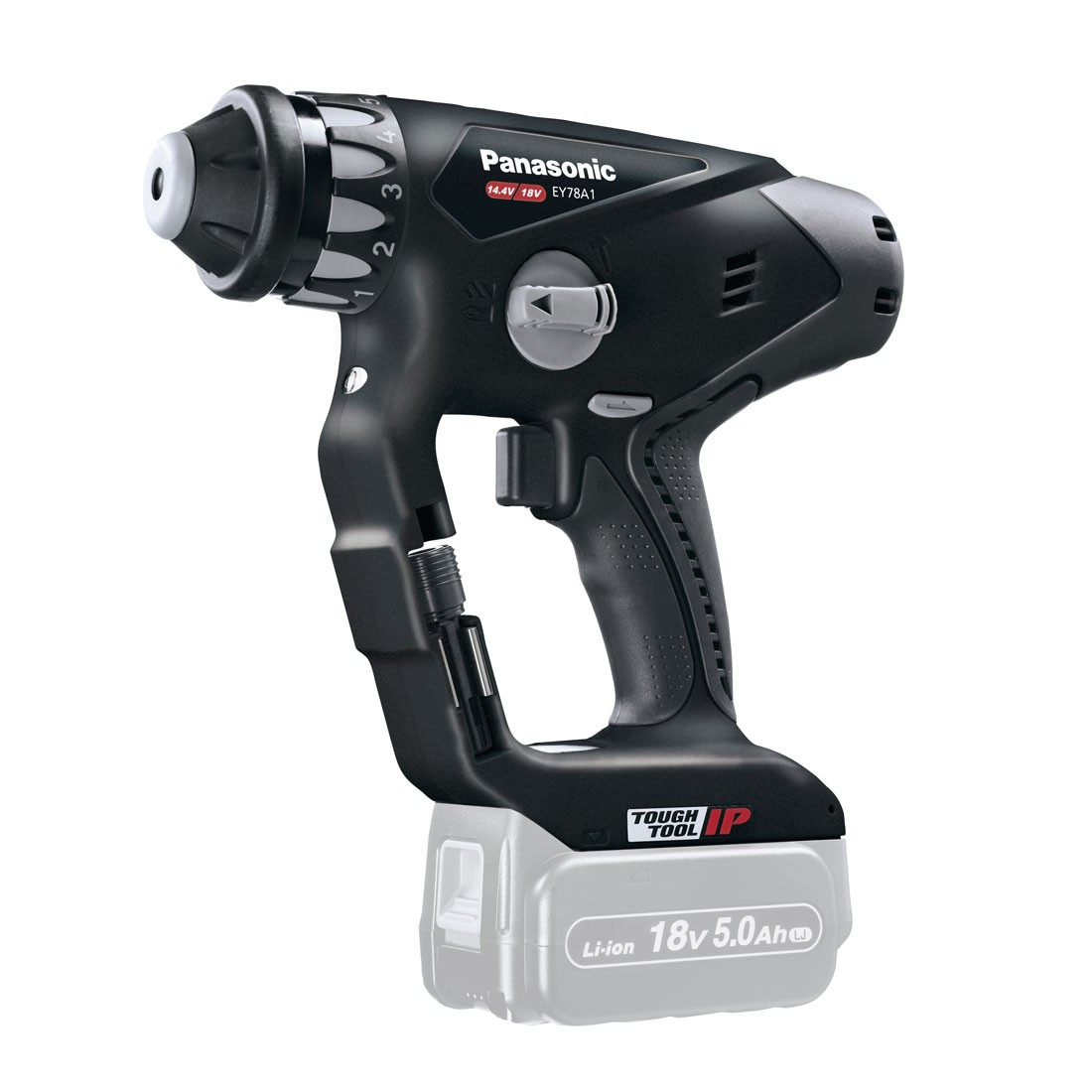 Panasonic EY78A1X32 Dual Voltage 14.4v/18v SDS+ Hammer Drill Driver Body Only