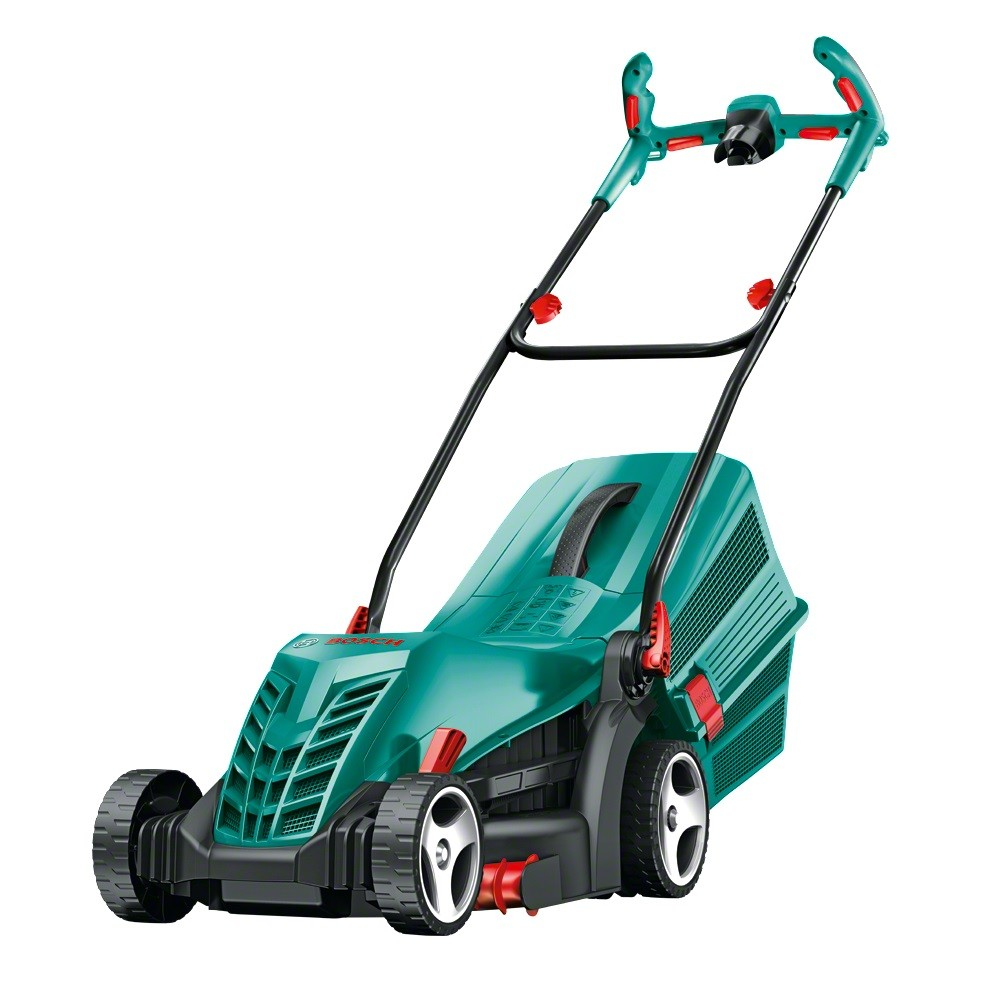 Bosch Green Rotak 36 R Corded Electric Rotary Lawn Mower 1350W 240v 06008A6273