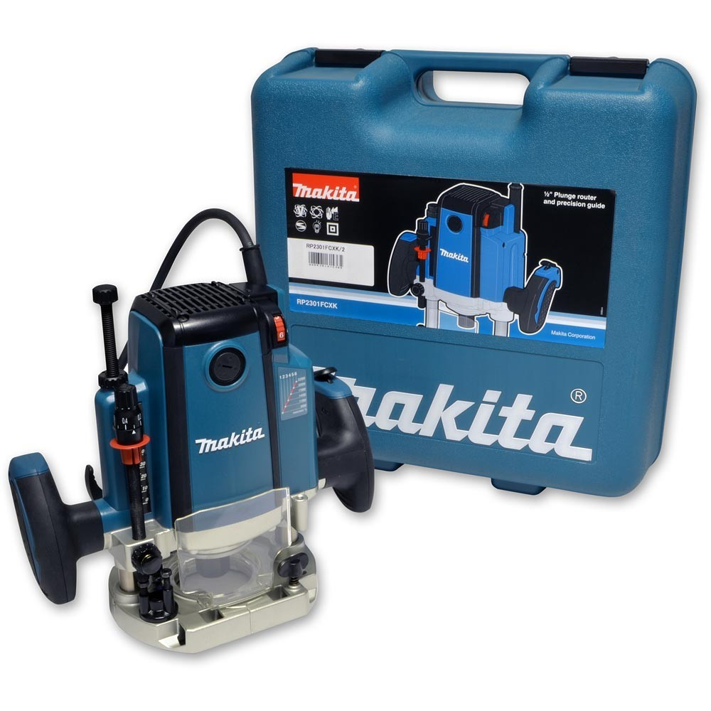 Makita RP2301FCXK Router/Plunge Inc Case 110v