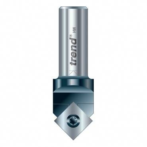 Trend RT/81X1/4TC Rota-Tip V groove 17 mm dia.